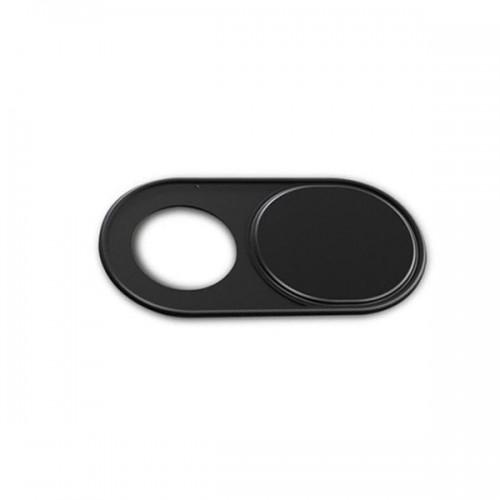 Наклейка на камеру телефону або ноутбука металева чорна Locker Cam Metall Black