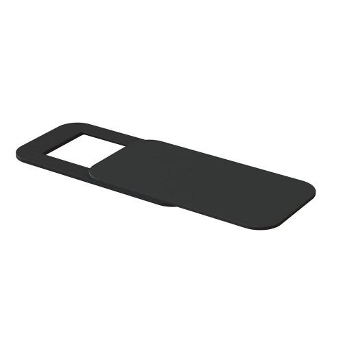 Заглушка на веб камеру прямокутна чорна 1шт Locker Cam Square Black 1