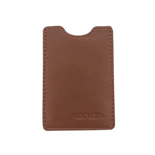 Чохол для кредитної картки RFID захистом рудий Locker Card Orange