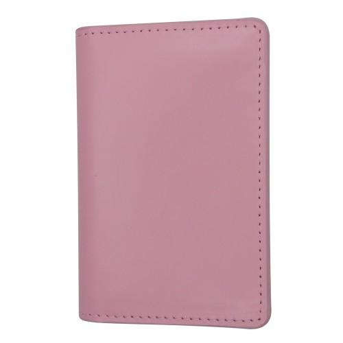 Екрануючий холдер для пластикових карток з RFID захистом рожевий Locker Holder Pink
