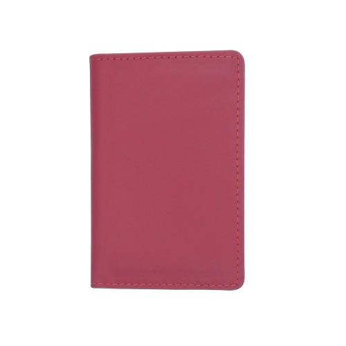 Екрануючий холдер для пластикових карток з RFID захистом червоний Locker Holder Red