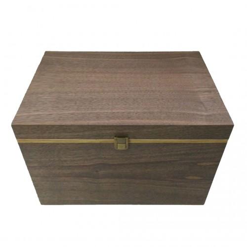 Екрануюча настільна скринька з натурального дерева на 24 смартфони Locker Box 24