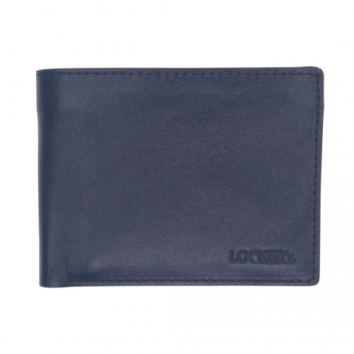 Портмоне з RFID захистом чорне Locker Wallet Black
