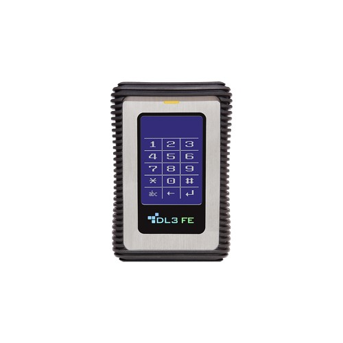 Диск с паролем DataLocker DL3 FIPS Edition (FE) Encrypted Hard Drive 512GB SSD - 2 Factor Auth RFID