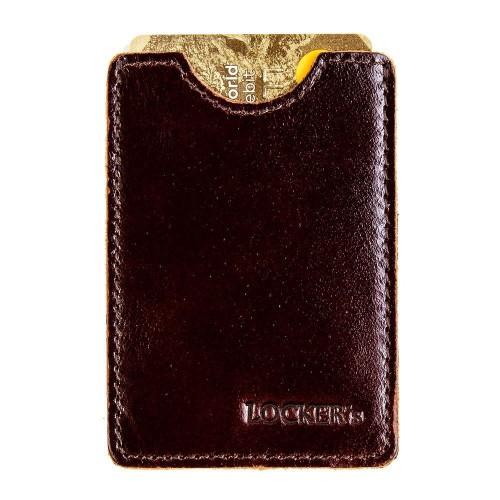 Екранований чохол для платіжних карт бордо Locker Card Bordo