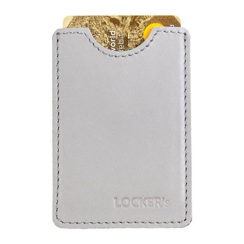 Захисний чохол для кредитної картки сірий Locker Card Grey