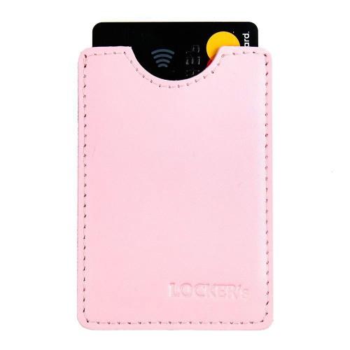 Захисний чохол для кредитної картки рожевий Locker Card Pink