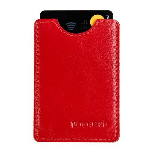 Екранований чохол для платіжних карт червоний Locker Card Red