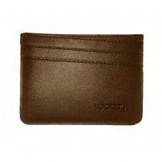 Картхолдер с RFID защитой  на 7 отделений коричневый Locker Holder2 Brown