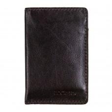 Обкладинка з RFID захистом для українського ID паспорта коричнева Locker ID Brown