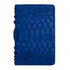 Екрануюча обкладинка з RFID захистом для українського ID паспорта синя Locker ID Blue Python