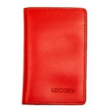 Обкладинка з RFID захистом для українського ID паспорта червона Locker ID Red