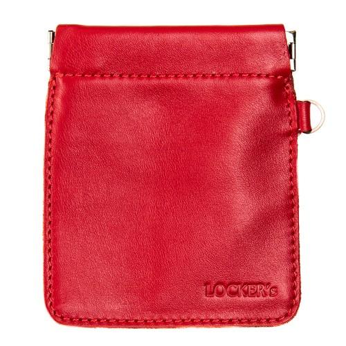 Протиугінний екрануючий чохол на пружинній застібці для авто ключа червоний Locker Key Snap Red S