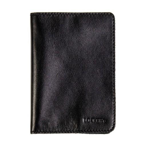 Екрануюча обкладинка для біометричного паспорта чорна Locker Pas2 Black