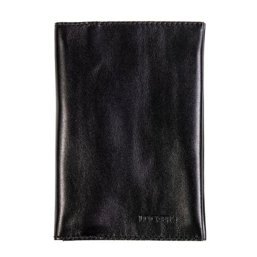 Обкладинка для паспорта та карт з RFID захистом чорна Locker Pas3 Black