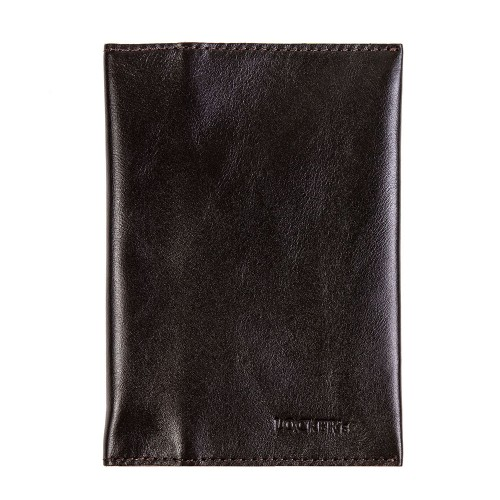 Обкладинка для паспорта та карт з RFID захистом коричнева Locker Pas3 Brown