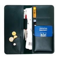 Дорожній органайзер для документів з RFID захистом Locker Travel Green