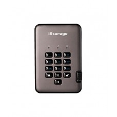 iStorage diskAshur Pro 2 256-bit 3TB - Classified - Graphite