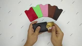 Чехол с RFID защитой для одной карты