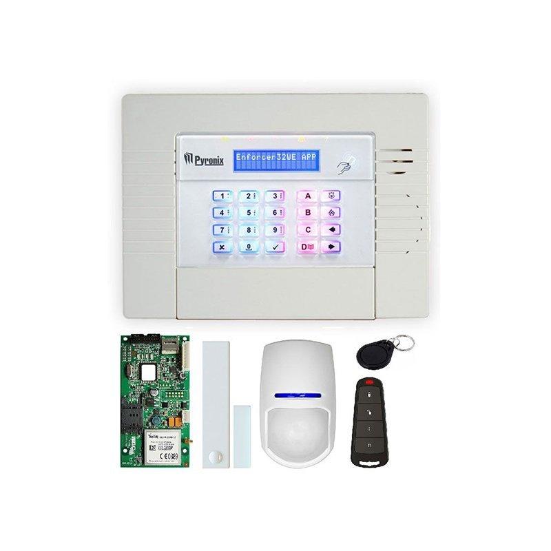 Комплект бездротової охоронної системи KIT-ENF32WE-APP/GPRS Pyronix