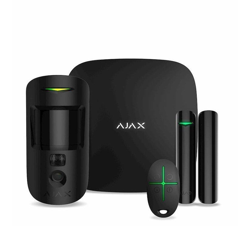 Комплект бездротової сигналізації Ajax HubKit 2 black EU