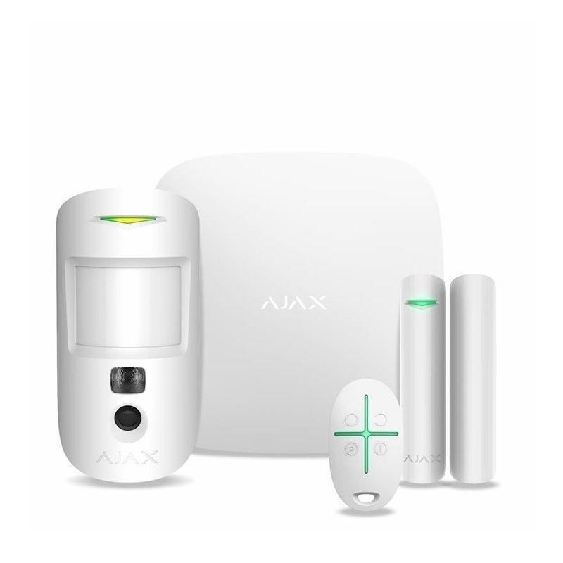 Комплект бездротової сигналізації Ajax HubKit 2 white EU